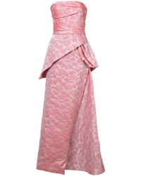 Rubin Singer - Rose Embroidered Gown - Lyst