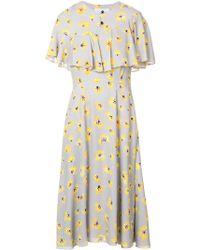 Novis - Floral Print Dress - Lyst