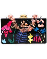 Edie Parker - Bolso de mano con motivo floral - Lyst