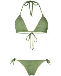 Fisico - Textured Bikini Set - Lyst