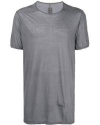 Rick Owens Drkshdw - Longline T-shirt - Lyst