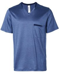 La Perla - V-neck Nightwear T-shirt - Lyst