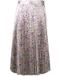 Stella McCartney - Isabelle Skirt In Multicolor Lilac - Lyst