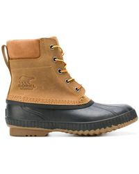 Sorel - Lace-up Ankle Boots - Lyst