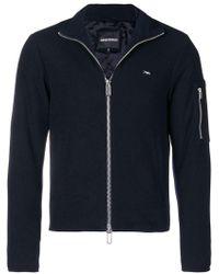 Emporio Armani - Zipped Jacket - Lyst
