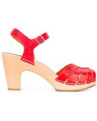 Swedish Hasbeens - 'fredrica' Sandals - Lyst