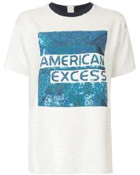 Ashish - American Excess Graphic Sequined T-shirt - Lyst