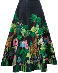 Manish Arora - Safari Embellished Midi Skirt - Lyst