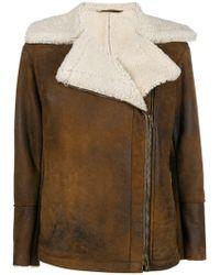 Salvatore Santoro - Shearling Collar Jacket - Lyst