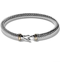 David Yurman - Cable Buckle Bracelet - Lyst