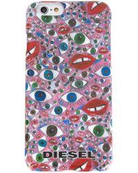 DIESEL - Eye Print Iphone 6 Case - Lyst