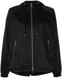 Theory - Hooded Jacket - Lyst