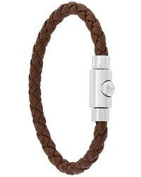 Ferragamo - Thin Woven Bracelet - Lyst