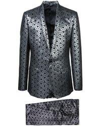 Dolce & Gabbana - Metallic Jacquard Suit - Lyst