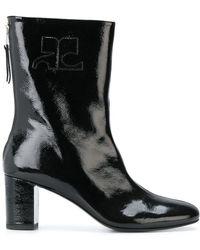 Courreges | Zip Ankle Boots | Lyst