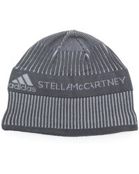 bf797463 adidas By Stella McCartney Essentials Beanie in Blue - Lyst