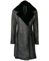 Avant Toi - Fur Coat - Lyst