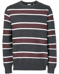 Tomorrowland - Multi-stripe Sweater - Lyst
