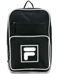 Fila - Contrast Logo Backpack - Lyst