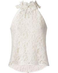 Martha Medeiros   - Marescot Lace Blouse - Women - Cotton/polyamide/viscose - 38   Lyst