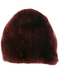 Marni - Rabbit Fur Hat - Lyst