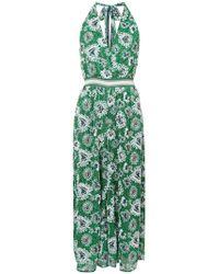 Missoni | Embroidered Knit Halterneck Jumpsuit | Lyst