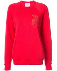 Rosie Assoulin | Floral Print Sweatshirt | Lyst