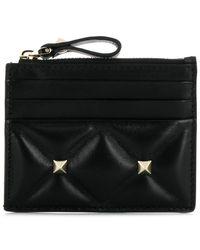 Valentino - Garavani Candystud Wallet - Lyst