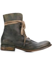 A Diciannoveventitre Wild Military Boots - Green
