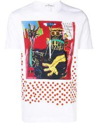 Comme des Garçons - Comme Des Garçons X Jean-michel Basquiat Print T-shirt - Lyst