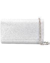 Casadei - Envelope Glitter Clutch Bag - Lyst