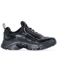 Reebok - Black Daytona Dmx Suede Leather Sneakers - Lyst