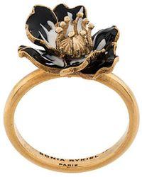 Sonia Rykiel - Enamelled Poppy Ring - Lyst
