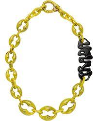 Prada - Logo Necklace - Lyst