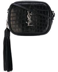 Saint Laurent - Monogram Blogger Leather Bag - Lyst