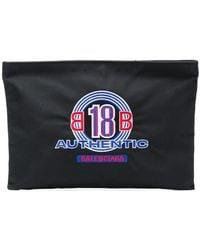 Balenciaga - Explorer Clutch Bag - Lyst