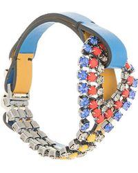 Marni - Embellished Buckle Bracelet - Lyst