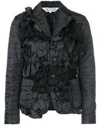 Comme des Garçons - Taffeta Embroidered Jacket - Lyst