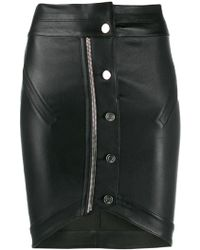 RTA - Button-front Pencil Skirt - Lyst