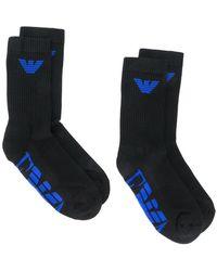 Emporio Armani - Logo Socks - Lyst