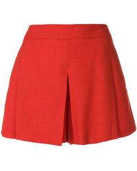 Mulberry - Pleat Detail Shorts - Lyst