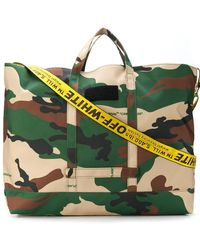 Off-White c/o Virgil Abloh - Camoflaugue Holdall - Lyst