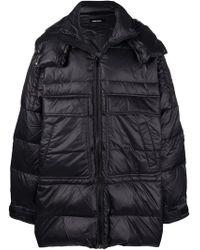 DIESEL - Oversized Puffer Coat - Lyst