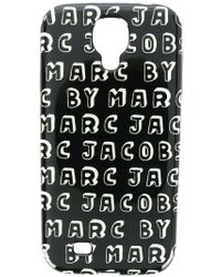 Marc By Marc Jacobs Logo Print Samsung Galaxy S4 Case