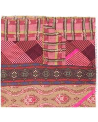Pierre Louis Mascia - Multiple Pattern Scarf - Lyst