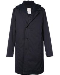 Stephan Schneider - Single Breasted Hooded Coat - Lyst