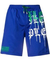 Philipp Plein - Chill Bill Swim Shorts - Lyst