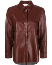 Nanushka - Concealed Front Shirt - Lyst
