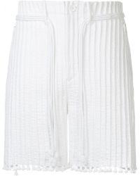 Craig Green - Cord And Tunnel Shorts - Lyst