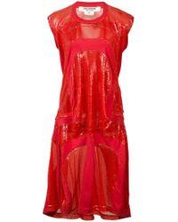 Junya Watanabe - Sequin T-shirt Dress - Lyst